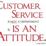 How Do YOU Define Customer Service?