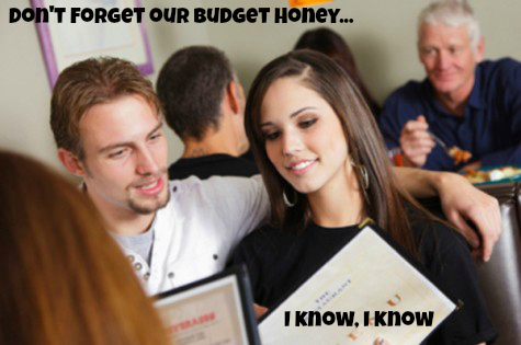 Don't Forget Our Budget