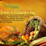My Thanks to You on Thanksgiving