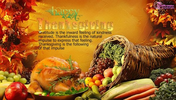 My Thanks to You...on Thanksgiving