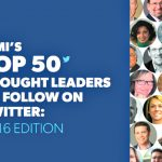 Glad to be Voted: ICMI's Top 50 Thought Leaders to Follow on Twitter 2016