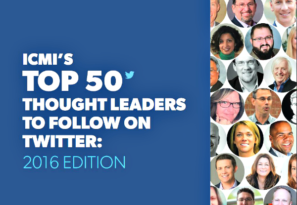 ICMI's Top 50 Thought Leaders to Follow on Twitter 2016