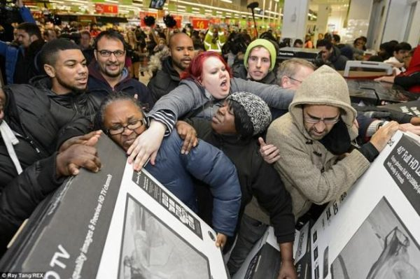 Black Friday Shopping Brings Out The Worst In Us