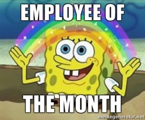 Employee of the Month SpongeBob 2